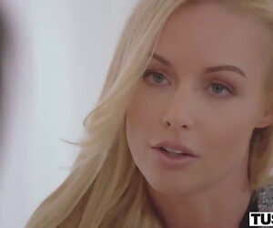 38:38 , Mature boss Kayden Kross seduces scared cutie Vigil in the assignation
