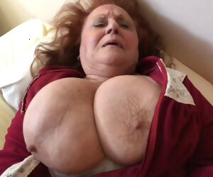 4:42 , The HOTTEST Amateur Granny Still Enthusiasm Young Cock