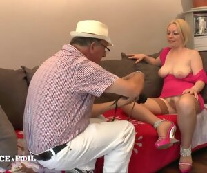 30:25 , Depress France A Poil - Blonde Milf With Busty Milky Breats