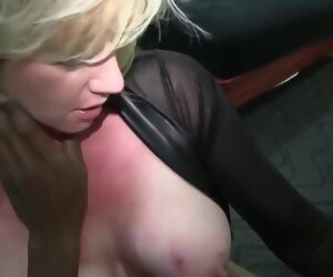 1:8:27 , Gaffer Blonde Wife Enjoys BBC - Hubby Films