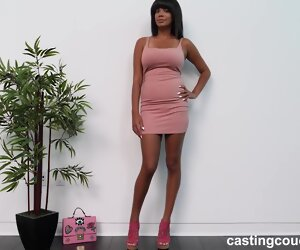 48:00 , Jiselle Jiselle is a smoking hot, ebony slut who likes to play with rock..