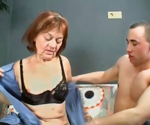 8:00 , Prudish Granny Gets Will not hear of Pussy Filled With Young Dick