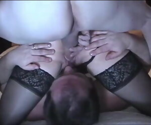 2:41 , Cuck licks wife's cunt while bull fucks her doggystyle