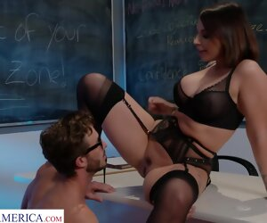 5:00 , Ivy Lebelle Fucks The brush A+ Pupil - MyFirstSexTeacher