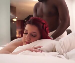 21:19 , The Massage, Interracial BBW Tattooedbarbie