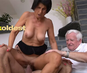 10:49 , Old Man Licks Cum lacking His Wife Yetta