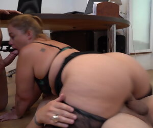 41:10 , French Chubby Girl Jeny has DP in the office