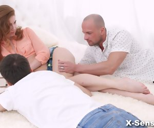 7:04 , X-Sensual - Melissa Grand - Threesome pleasantries