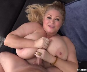 21:49 , Busty Blonde Plumper, Samantha Is Getting Fucked Hard On Burnish apply Sofa..