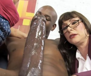 8:22 , Big Black Boy Cock Creampie Cum Hd Interracial Mature Milf