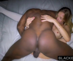 12:12 , BLACKEDRAW  NYC Teen Fucks Along to Biggest BBC in Along to Planet