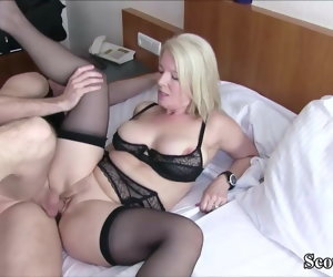 7:11 , German MILF Caught Young Boy and Seduce him to Enjoyment from