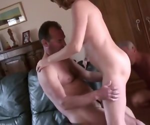7:19 , Amateur Cuckold Mature Old Threesome