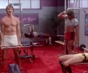 23:04 , Pinch Niter, Erica Boyer,Hyapatia Lee gym orgy from Setting up Girls(1983)