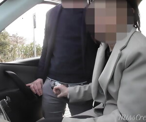8:02 , Dogging my wife in public motor park and she jerks off a voyeur