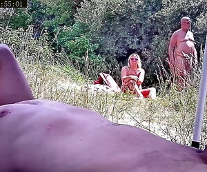 1:24 , Cock Couple Dick German Hd Nude Nudist Old Outdoor Public