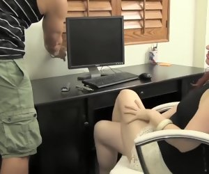 27:56 , Sexy Female Boss Finds Hard Load of shit Give Her Lonely Office
