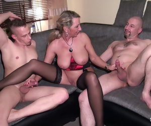 22:36 , Husband Share his German Wife Jenny with Friend in 3some