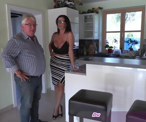 15:25 , German big tits milf with glasses fuck horrific old guy