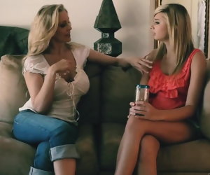 52:08 , Molly Bennett with an increment of Julia Ann Girlfriends Films