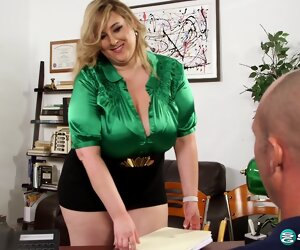 17:43 , Amiee Roberts The BBW office pervert