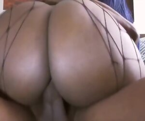 24:36 , Voluptuous, black honey is lively as A a maid and everlastingly having anal..