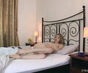 4:54 , Kristinka masturbates on her white couch - Compilation - WeAreHairy