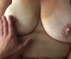 4:24 , 63 year old Woman and Younger Man Shagging