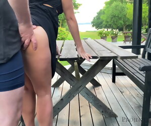 7:23 , Morning outdoor quickie around schoolgirl - projectsexdiary