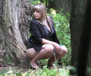 12:39 , Russian girls pee on touching the wedding woodland 01