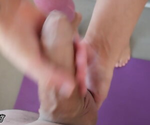 10:19 , Stepsister wants Cum in her Panties Before Yoga Class