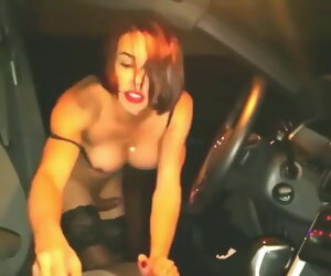 15:45 , Tgirl Fucking Fortuitous Guys Retire from Street Fastening 3