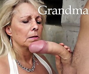 19:19 , Grandmas unaccompanied love young cocks