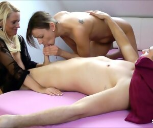 9:07 , Little one caught Stepmom just about her BF and Joins For A Threesome, German