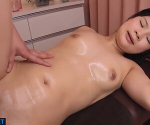 57:11 , The Girl Was Massaged For The First Time